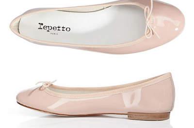 Leise und bequem - auf Ballerinas zur Hochzeit