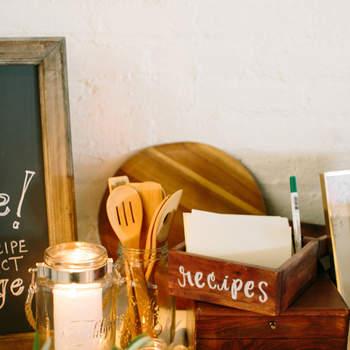 Caja de recetas para dejar mensajes. Credits: Lindsay Madden
