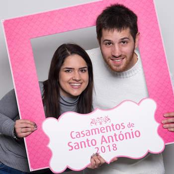 """<p><b>Inês Ribeiro &amp; Vasco Carvalho</b><p>Carnide<p>Inês tem 22 anos e é Administrativa; Vasco tem 27 anos e é Talhante. Vão ter um casamento católico.<p>Sobre o seu relacionamento, dizem existir """"união, amor e companheirismo""""."""