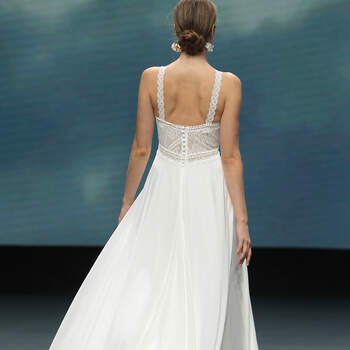 Marylise | Créditos: Valmont Barcelona Bridal Fashion Week 2020
