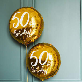 Globo 50 Años Oro- Compra en The Wedding Shop