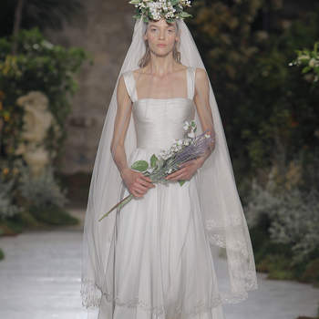 Reem Acra. Créditos: Barcelona Bridal Fashion Week