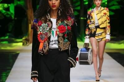 Milán Fashion Week Primavera-Verano 2017. ¡Conoce las últimas tendencias en vestidos de invitada!