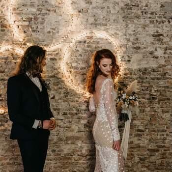 Styled Wedding Shoot met een stoer thema: Rock and Love Forever   Foto: Danielle Kroneman Photography