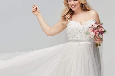 Abiti da sposa per donne curvy: scopri come sentirti bellissima nel tuo grande giorno!