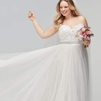 Abiti da sposa per donne curvy  scopri come sentirti bellissima nel ... 858896f0a11