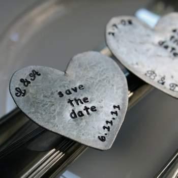 Save the Date en aimant Boutique handmadeevents sur Etsy.com