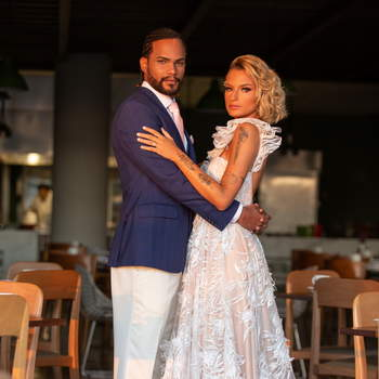 Vestido Sol Azulay e traje Sarto Cavalieri | Foto: Giovani Garcia