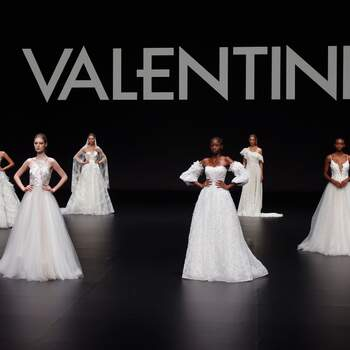 Valentini 2021 | Valmont Barcelona Bridal Fashion Week