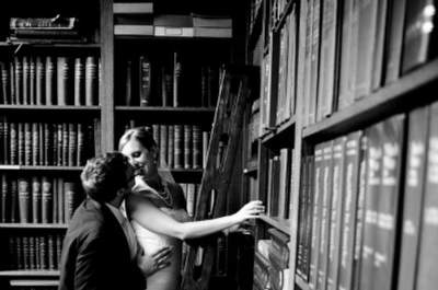 A Library Wedding Theme: More Than Just Books as Wedding Decor
