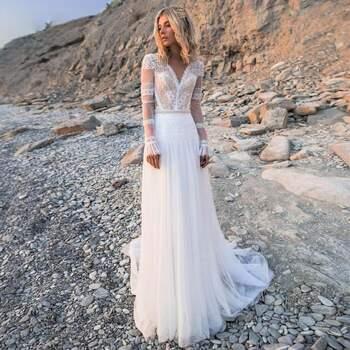 Brautkleid von Etsy jetzt auf Brautkleider.online shoppen. ID: 319429