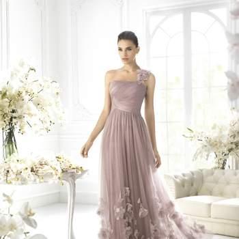 Farbige Brautkleider oder Abendroben für SIE.