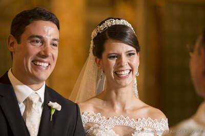 Casamento clássico de Ana Paula & Renato: emoção e amor em igreja tradicional de São Paulo!