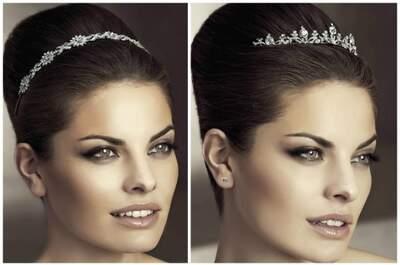 Stilvoller Kopfschmuck, passend zur Braut!