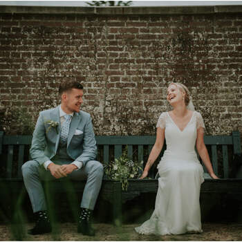 De landelijke bruiloft van Mirte en Robin   Foto: Nickie Fotografie