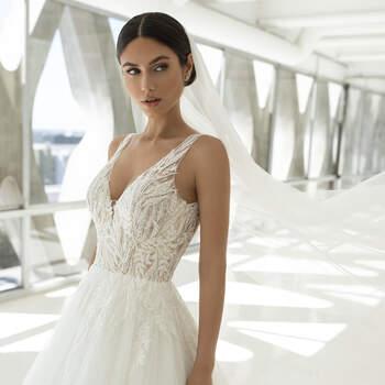 Vestido de noiva modelo Powell da coleção Pronovias 2021 Cruise Collection