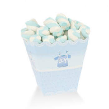 Assiette Moyenne Baby Boy Bleu 6 Pièces - The Wedding Shop !