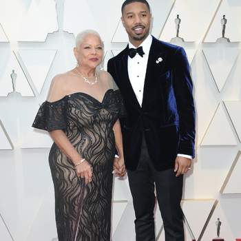 Michael B. Jordan und Mutter Donna Jordan / Cordon Press