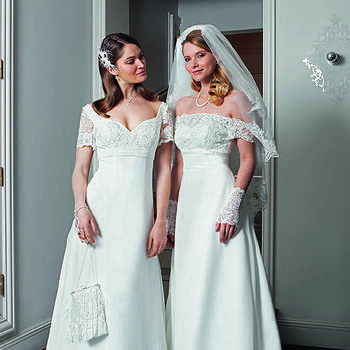 Photo : Robes de mariée Rafaella et Ramaissa Bella Créations 2020 - Les Mariées de Talia