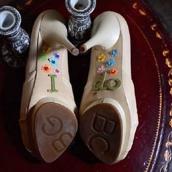 ¿Qué tal estos zapatos? Son fenomenales ..