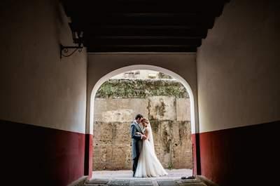 La playa nos unió: la boda de Felisa y Javier