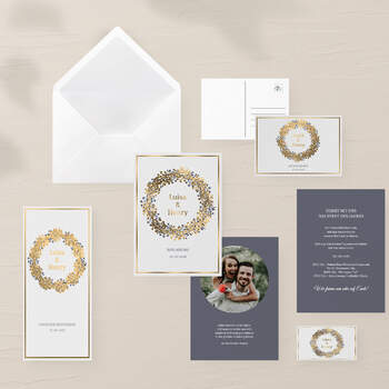 "Einladung Design ""Cesar"""