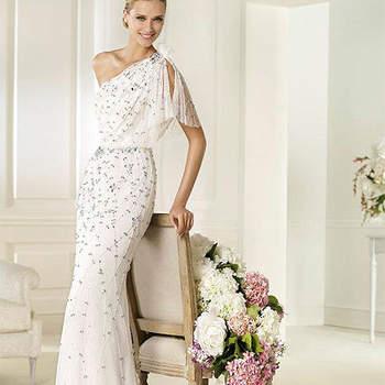 Vestidos de noiva Pronovias 2013: elegância e classe.