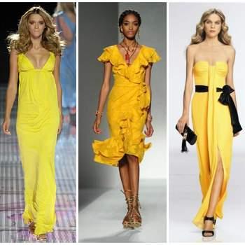Robes de Versace, Moschino, Escada