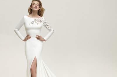Más de 50 vestidos de novia corte sirena: ¡causa sensación con estas propuestas glamurosas!