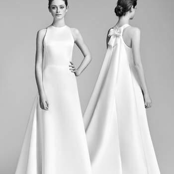 Vestidos de novia sencillos: ¡el minimalismo reinará en tu look!