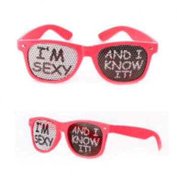 Lunettes I'm Sexy - The Wedding Shop !