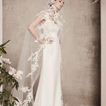 Vestidos de novia corte recto. ¡Sorprende luciendo uno de estos diseños!