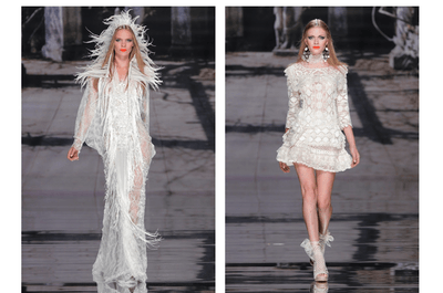 Conceptos y estructuras que transforman: Vestidos de novia primavera 2015 de YolanCris
