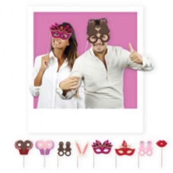 Kit Pour Photobooth Sexy 8 Pièces - The Wedding Shop !
