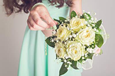 Brautkleider-Looks in Mint für eine frische Note