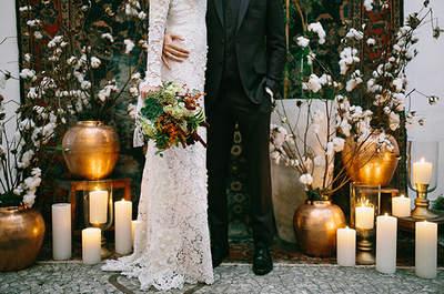 Como decorar um casamento usando detalhes em cobre: luminosidade e sofisticação!