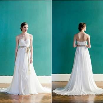 Inspirada numa imagem descrita por F. Scott Fitzgerald, Carol Hannah desenhou uma colecção de vestidos de noiva deslumbrante, carregada de feminilidade, de leveza e de pormenores delicados. Não será para todas as carteiras... Mas que é bonito de se ver, lá isso é!