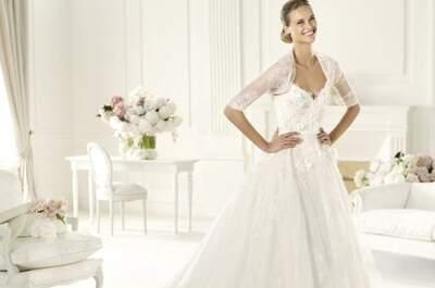 Vestidos elegantes Pronovias colección Elie Saab 2013