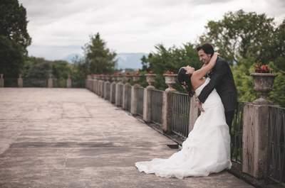 'Fiori d'arancio' per Elena e Luca, un matrimonio che si tinge del colore del sole