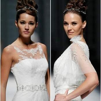 Vestidos de noiva La Sposa 2013: delicadeza nos detalhes.
