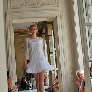 Robe courte de mariée Delphine Manivet - Crédit photo: Play like a Girl