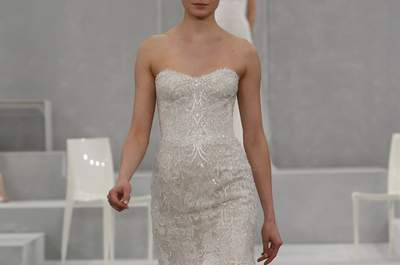 Monique Lhullier 2015  - New York Bridal Week