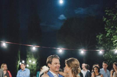 Amor nacido de un Erasmus: la boda de Sandra y Christian