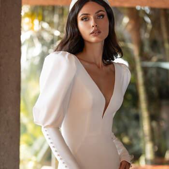 Vestido de noiva modelo Turner da coleção Pronovias 2021 Cruise Collection