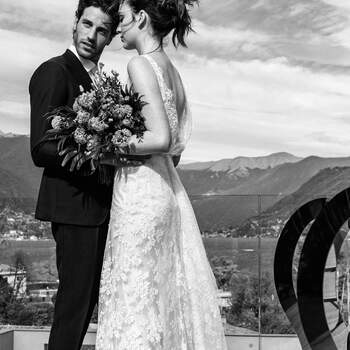 Shooting: Davide Bonaiti | Location: Hotel Hilton sul lago di Como | Allestimento: White Emotion