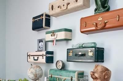 Casa nova, coisas velhas: recicle e encha as suas paredes de histórias
