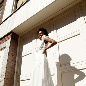 Styled Urban Bridal Shoot   Credits: Rui Jun Luong