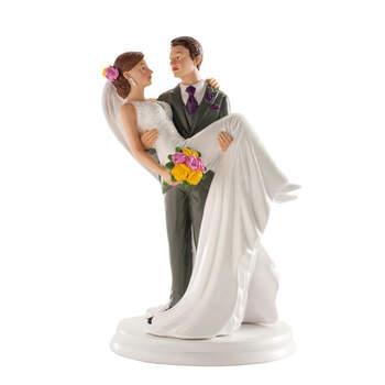 Figura Tarta Nupcial Te Cojo En Brazos- Compra en The Wedding Shop