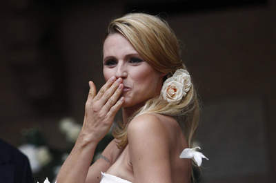 Matrimonio Michelle Hunziker e Tomaso Trussardi: un sì VIP a Bergamo