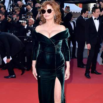 Susan Sarandon de Alberta Ferretti. Credits: Cordon Press